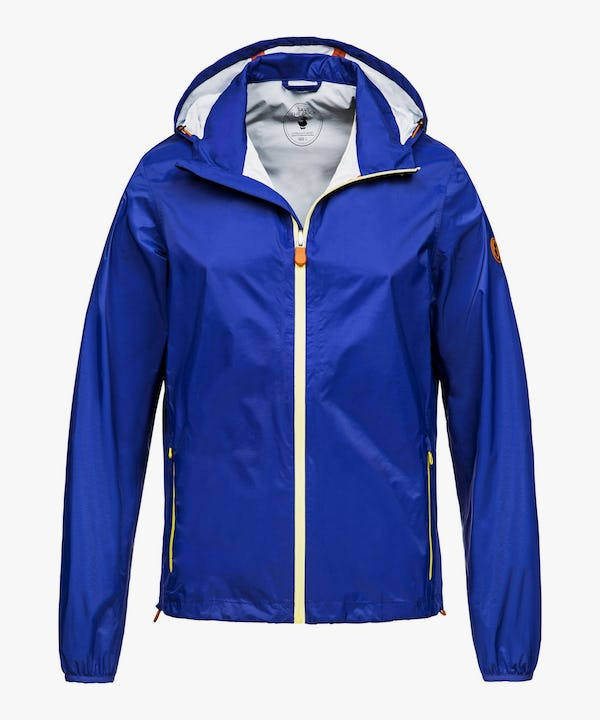 Men's Hooded Jacket in Sapphyre Blue