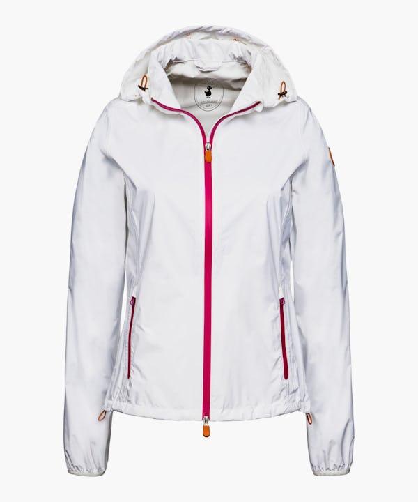 Women's Hooded Jacket in White