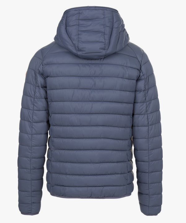 Men's Hooded Jacket in Eclipse Blue
