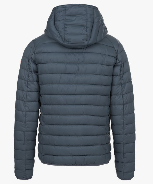 Men's Lightweight Hooded Jacket in Shadow Blue