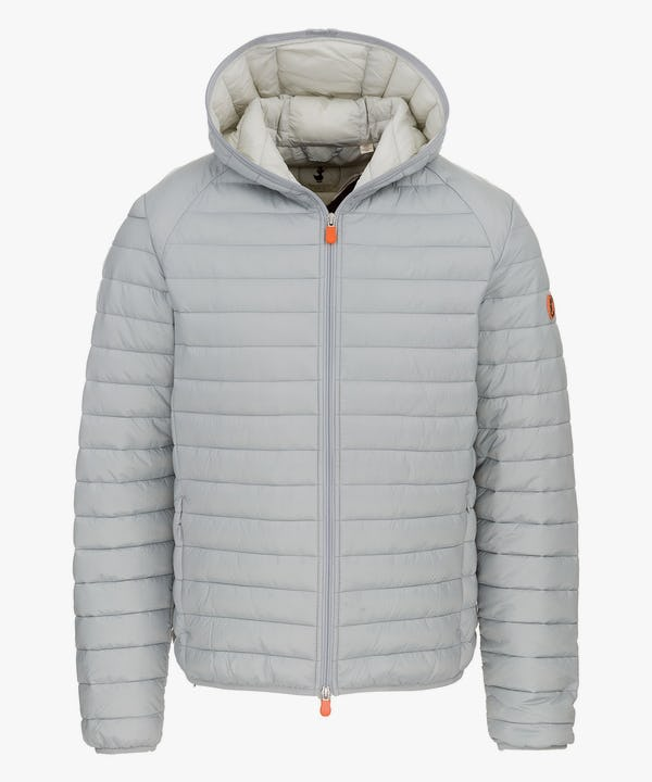 Men's Hooded Jacket in Opal Grey