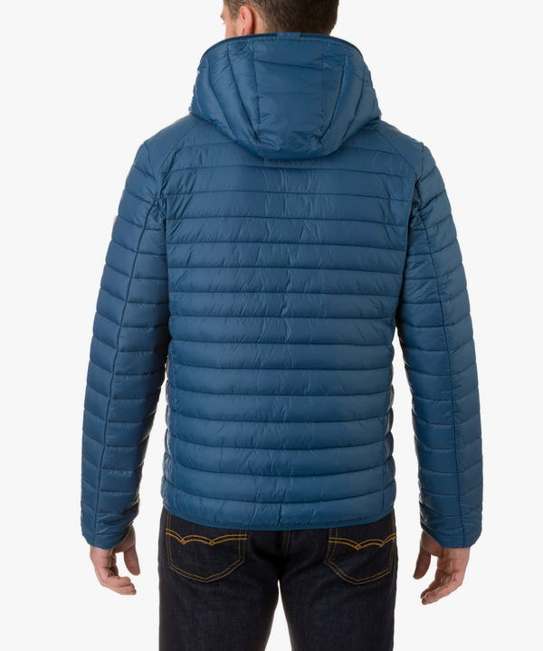 Men's Hooded Jacket in Midnight Blue