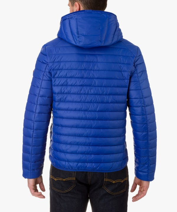 Men's Hooded Jacket in Deep Blue