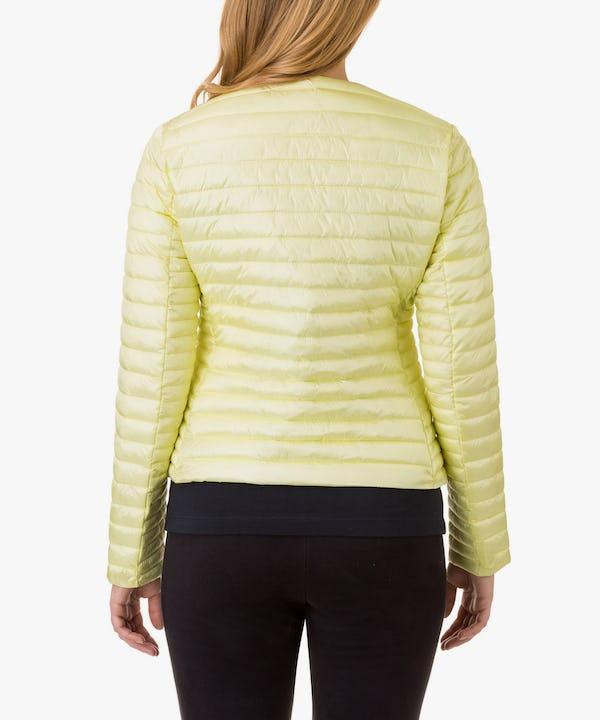 Women's Jacket in Vanilla Yellow