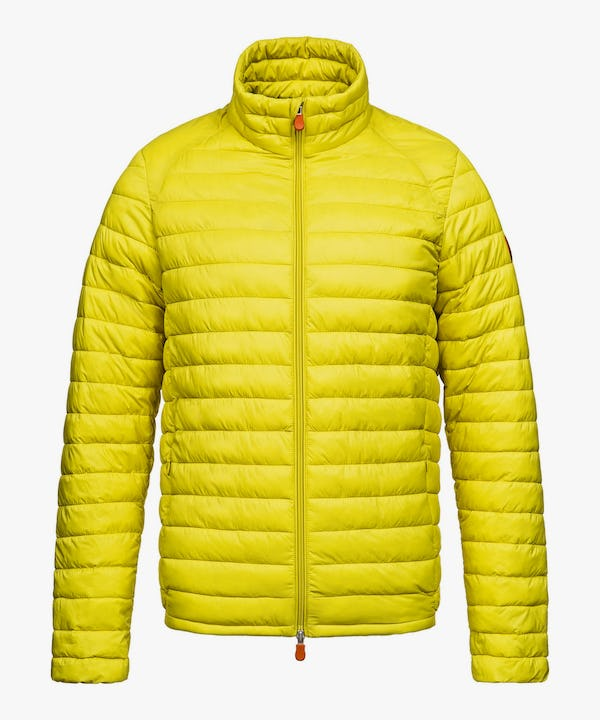 Men's Jacket in Acid Yellow