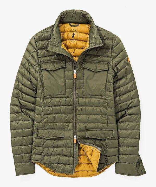 Men's Light Weight Jacket in Cypress Green