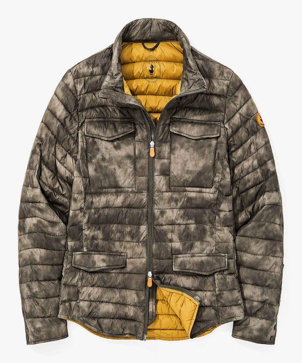 Men's Camo Jacket in Grey