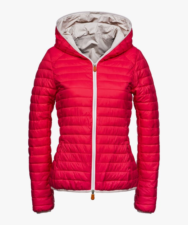 Women's Hooded Jacket in Pink Lady