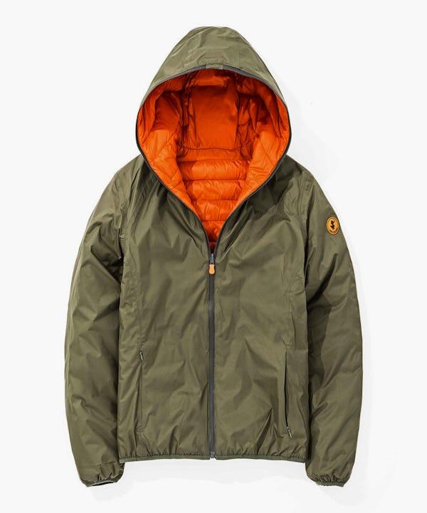 Men's Reversible Jacket in Cypress Green