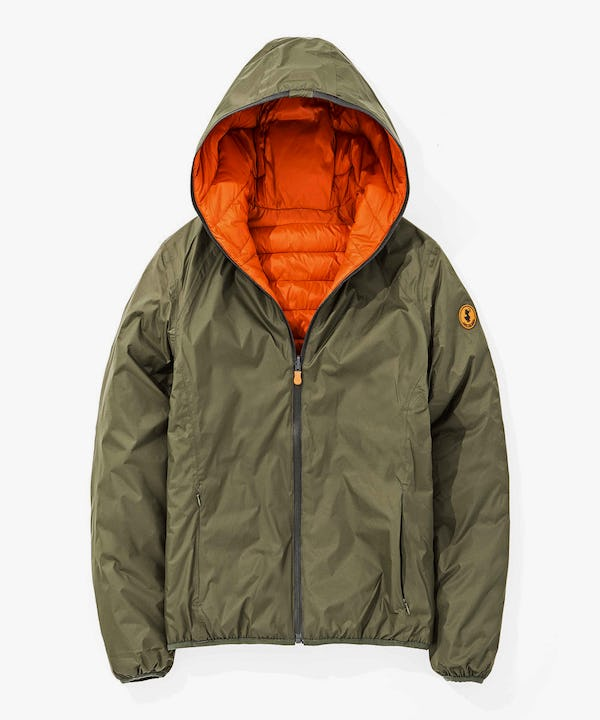 Men's Reversible Jacket in Cypress Green