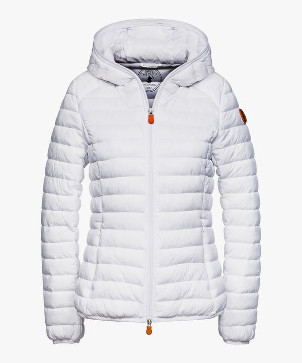 Women's Hooded Jacket in White