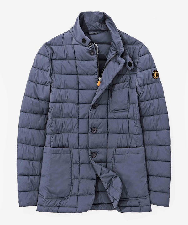 Men's Stretchy Jacket in Shadow Blue