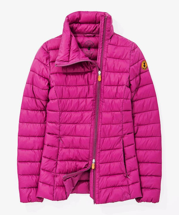 Women's Packable Light Weight Jacket in Pink