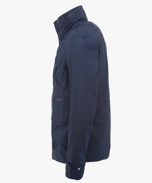Men's Jacket in Blue Black