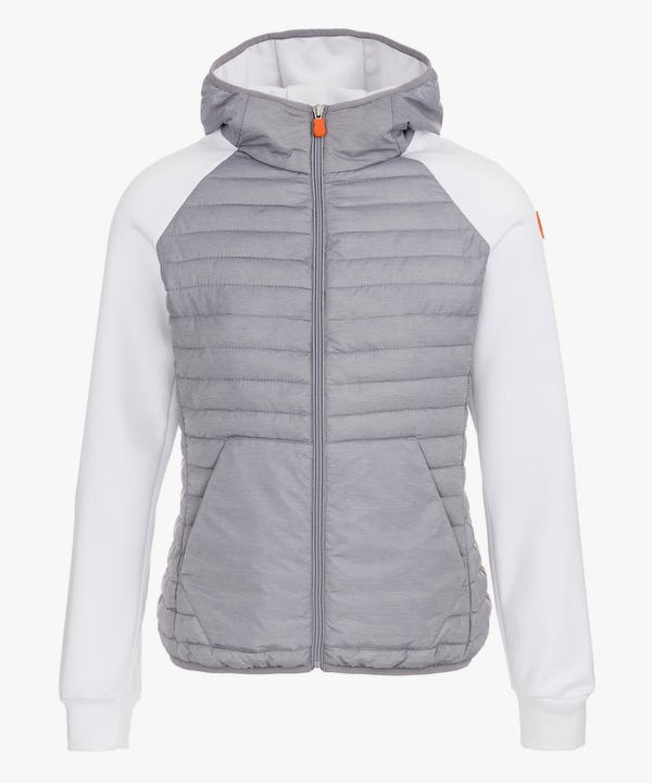 Women's Hooded Jacket in Light Grey