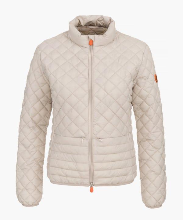 Women Jacket in Silver Grey
