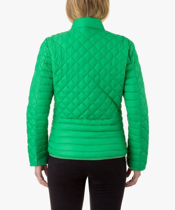 Women Jacket in Bright Green
