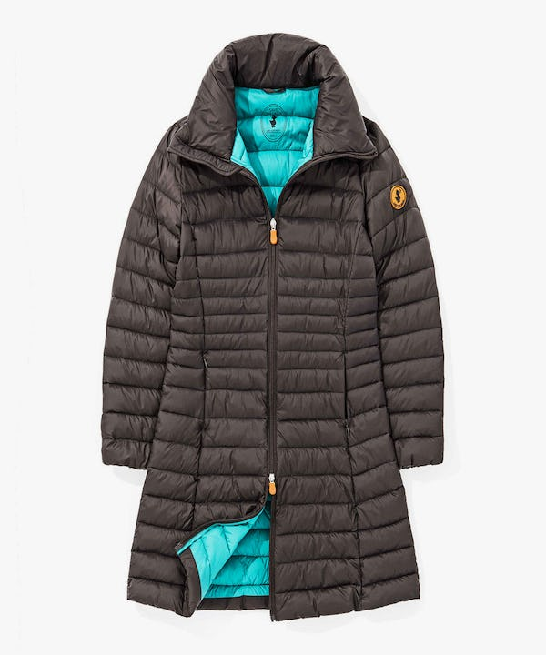 Light Weight Women's Autumn Parka in Brown