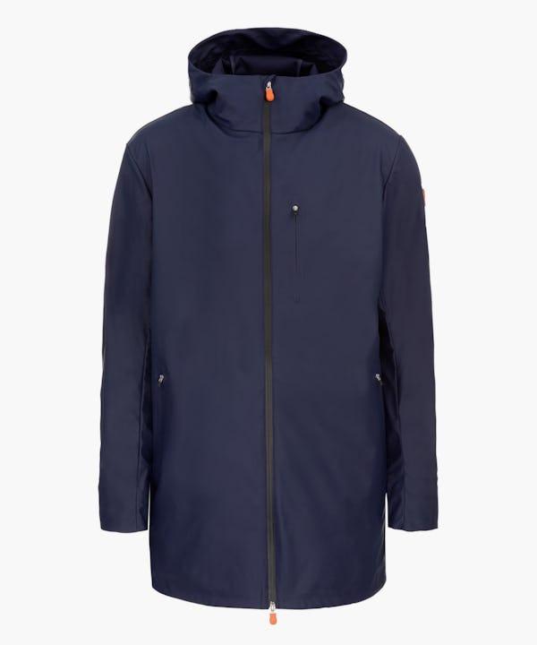 Men's Coat in Navy Blue