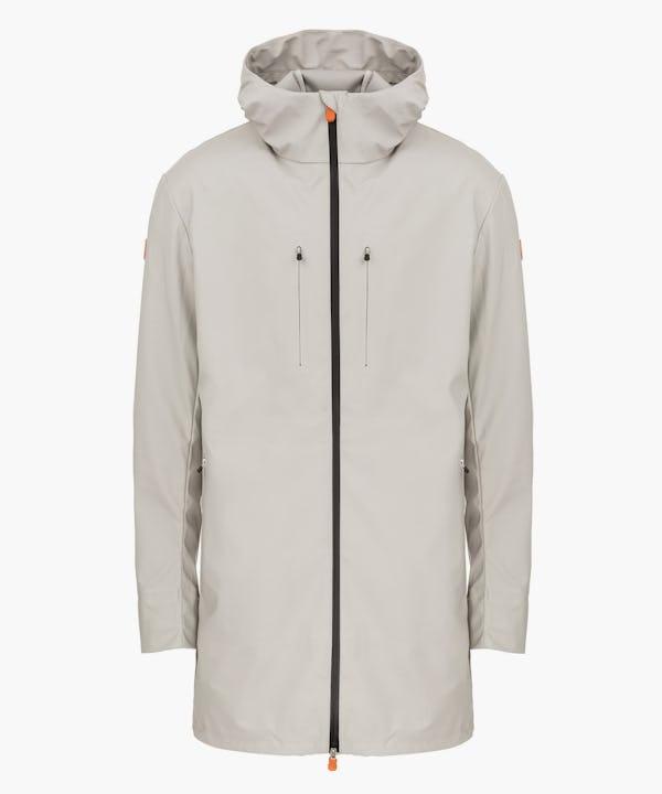 Men's Coat in Ice Grey