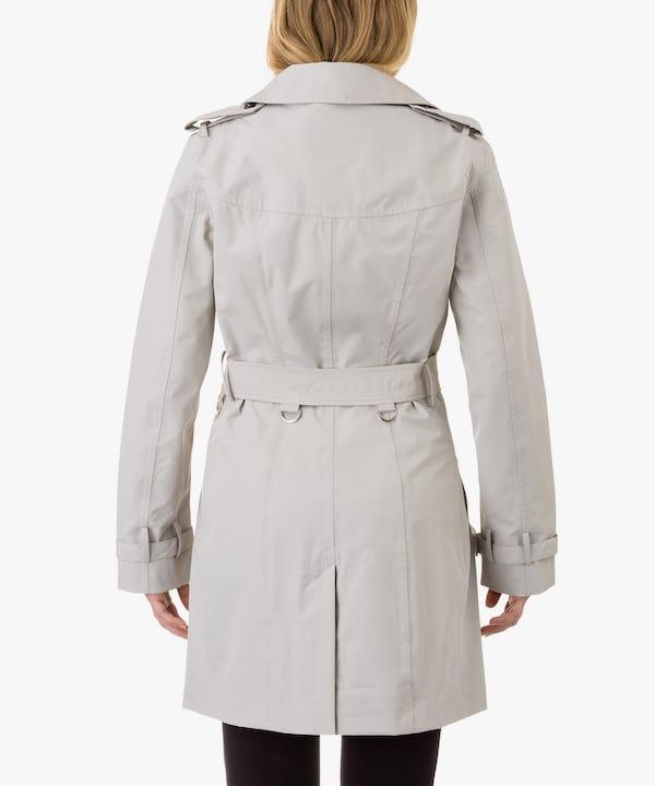 Women's Coat in Ice Grey