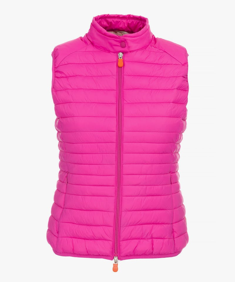 Save The Duck Women's Vest in Fuchsia Pink – Save the Duck