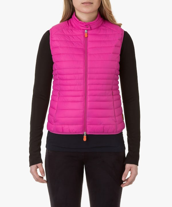 Women's Vest in Fuchsia Pink