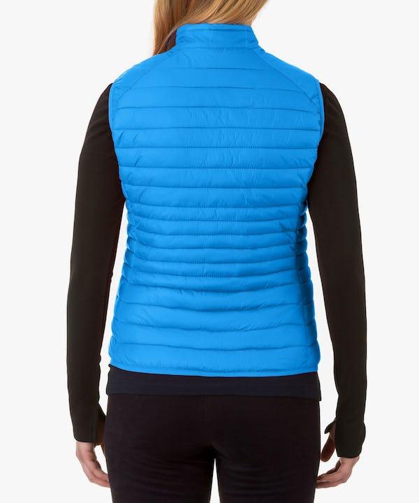 Women's Vest in Ocean Blue