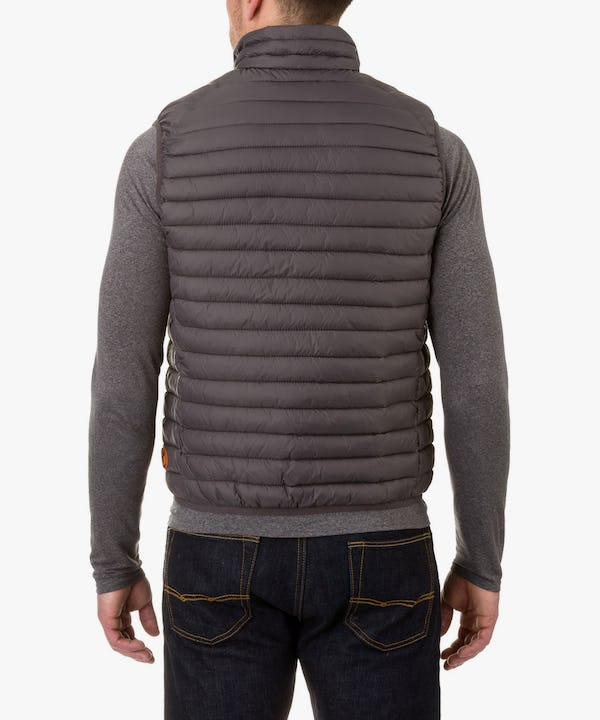Men's Vest in Charcoal Grey