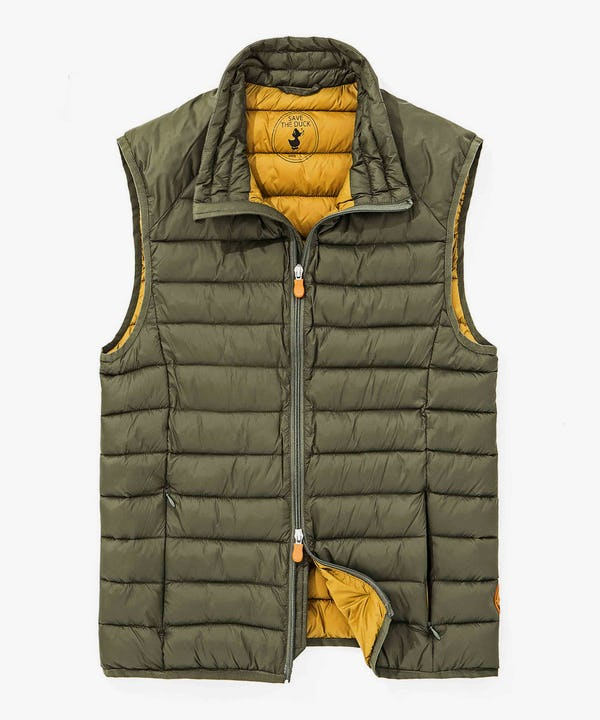 Light Weigth Men's Vest in Cypress Green