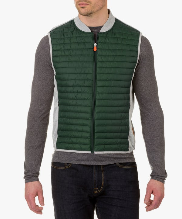 Men's Vest in Forest Green