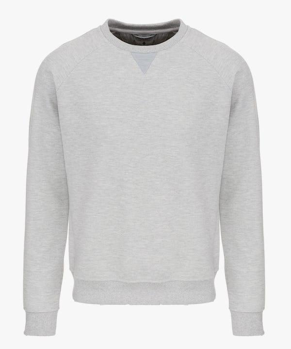 Men's Sweatshirt in Light Grey Melange