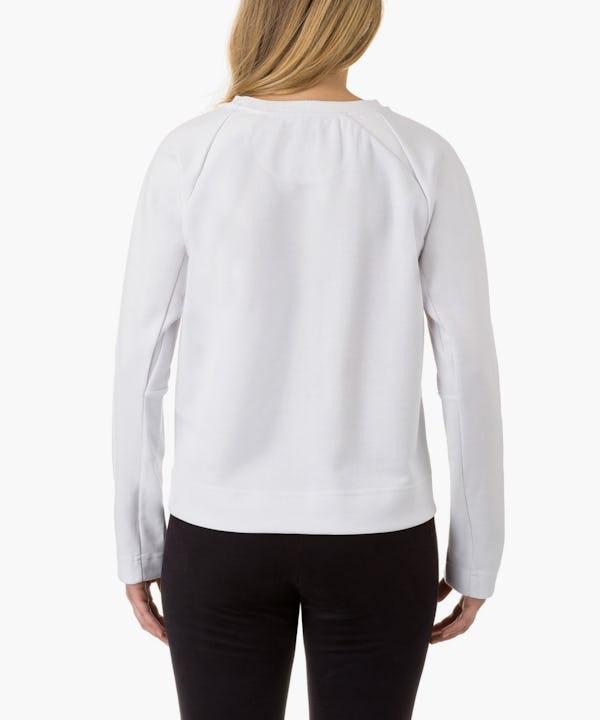 Women's Sweatshirt in White