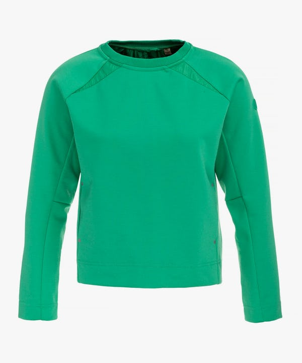 Women's Sweatshirt in Bright Green