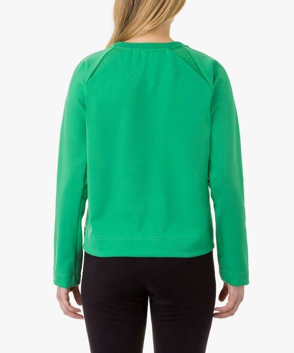 Women's Sweatshirt in Bright Green