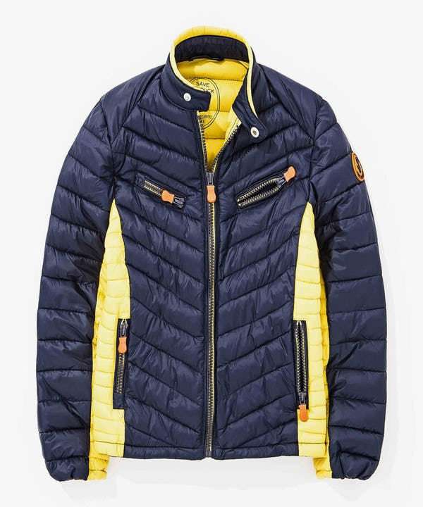 4 Pockets Boy Jacket in Navy Blue