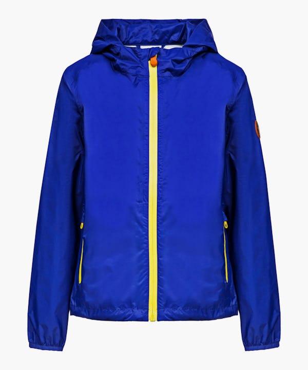 Unisex Hooded Jacket in Sapphyre Blue