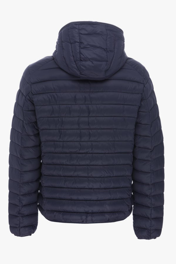 Men's Hooded Jacket in Navy Blue
