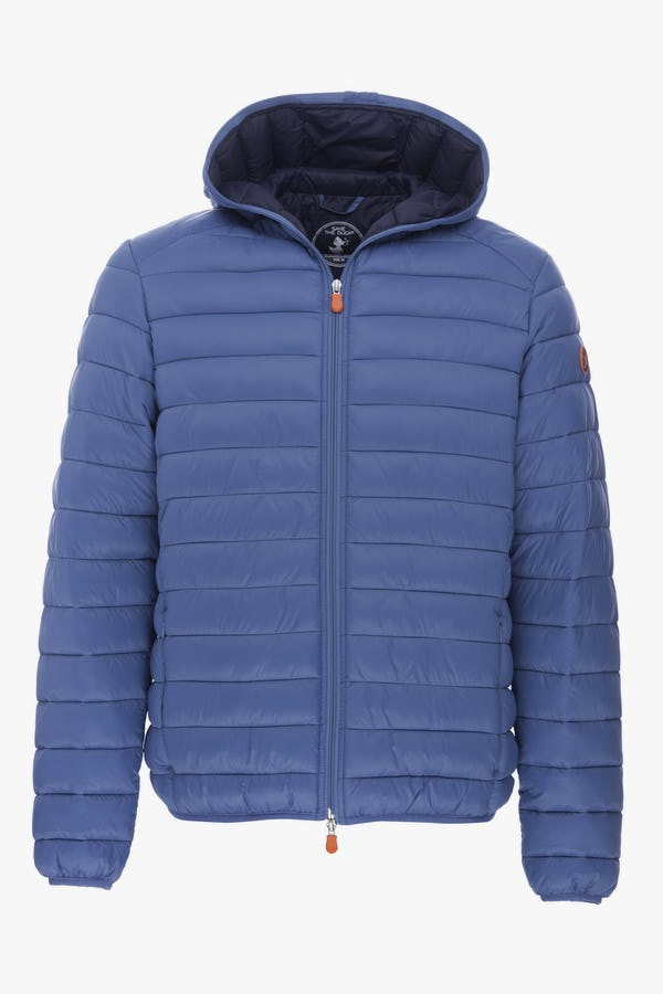 Men's Hooded Jacket in Lake Blue