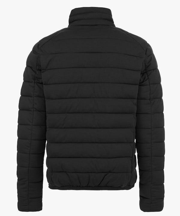 Men's Stretch Puffer Jacket in Black