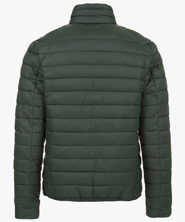 Men's Lightweight Puffer Jacket in Dark Green