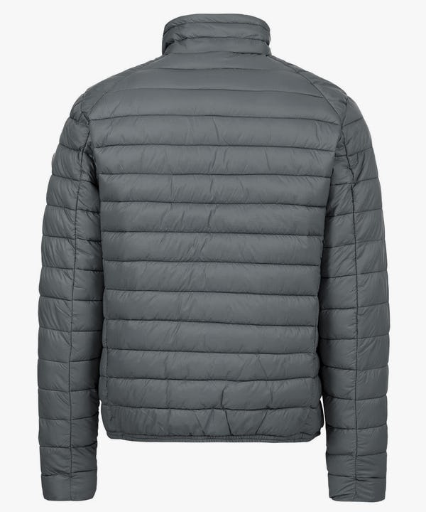 Men's Lightweight Puffer Jacket in Charcoal Grey