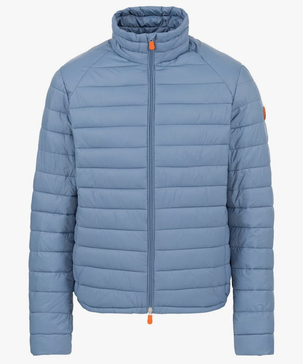 Men's Lightweight Puffer Jacket in Blue Fog