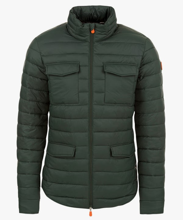 Men's Versatile Jacket in Dark Green