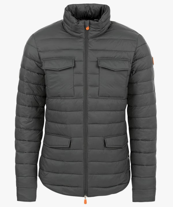 Men's Versatile Jacket in Charcoal Grey