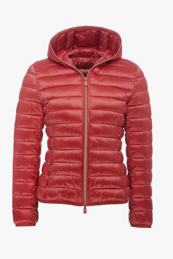Women's Jacket in Cranberry Red