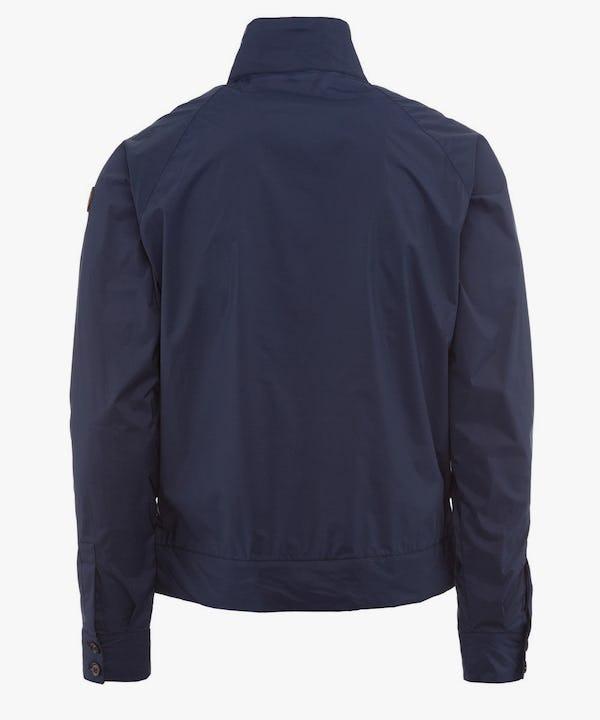 Men's Stretch Jacket in Blue Black
