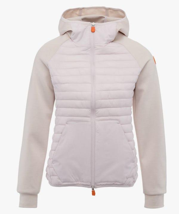 Women's Hooded Jacket in Light Pink Lady