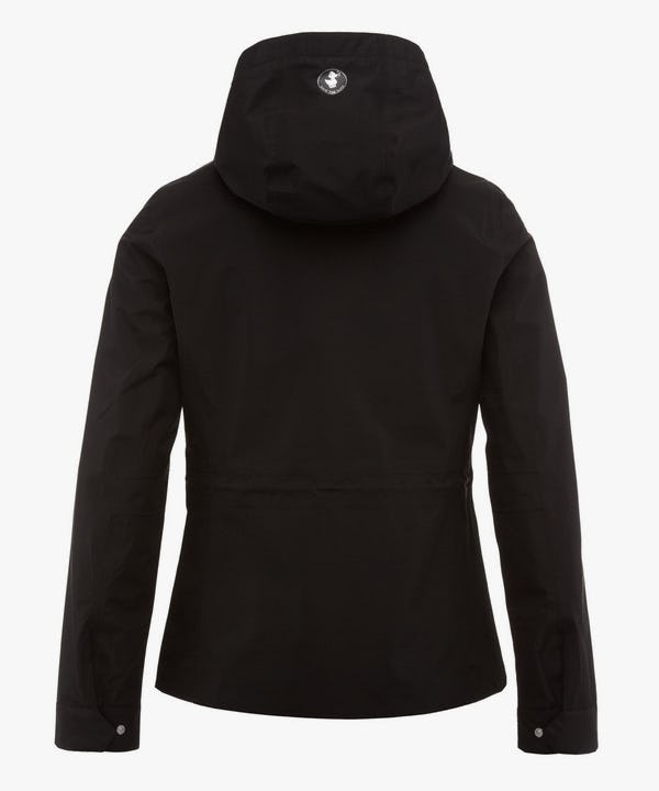 Women's Hoodied Jacket in Black