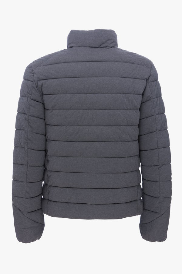 Men's Jacket in Opal Grey Melange